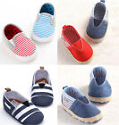 Slip-On Low Top Toddler Baby Boy Girls Canvas Shoes Walking Comfort 13 Color Lot