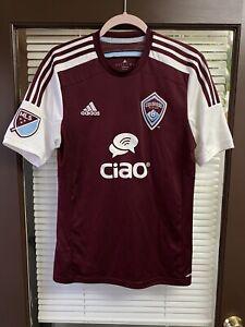 2014 Colorado Rapids MLS Futbol Soccer Jersey Kit Football Camiseta Vintage Ciao