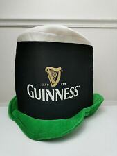 More details for four guinness st patrick's day party novelty foam hats 'the friendliest day'
