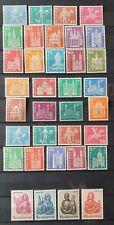 Schweiz 1960/61/63, Freimarken MNH postfrisch - Nominale 62,30 Fr