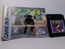 720 Skateboarding-Gameboy Game Boy Color (cartucho, manual) de AA7P EUR