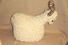 REAL WOOL RAM / SHEEP / LAMB / GOAT DOLL from ISRAEL