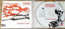 MAN - TO LIVE FOR TO DIE remasters CD