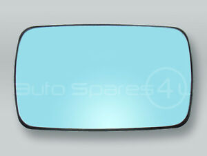 Non-heated Door Mirror Glass and Backing RIGHT fits 88-98 BMW 3-Series E30 E36