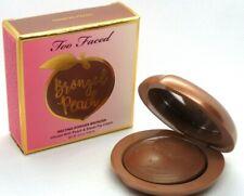 Too Faced Bronzed Peach Melting Powder Bronzer Toasted Peach  , NIB