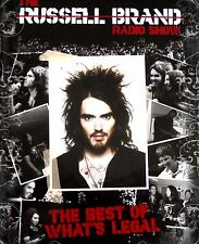 THE RUSSELL BRAND RADIO SHOW THE BEST OF WHAT'S LEGAL (3 CD's & DVD) Nr-Mint