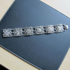 Feines Armband, Silber, filigran