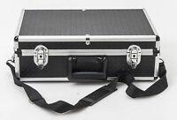 Kamerakoffer Aluminiumkoffer Koffer camera suitcase in Schwarz Silber