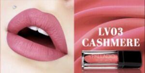Palladio Velvet Matte Cream Lip Color Cashmere Pretty In Pink Vegan