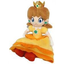 """Ufficiale Super Mario Bros PRINCIPESSA DAISY Morbido Giocattolo Peluche - 7.5 """"SANEI Collezionabile"""