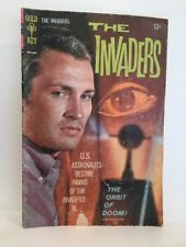 "VTG Gold Key Comic ""The Invaders "" The Orbit Of Doom 1967 12c US Astronauts"