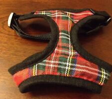 "NEW Be Good Small Dog 12"" - 17"" Scotland Tartan Dogwear Outfit Pet Clothing"