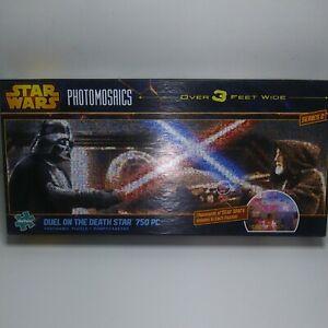 "Buffalo Puzzles  ""Star Wars""- ""Duel on Death Star""Photomosaics 750 Piece Puzzle"