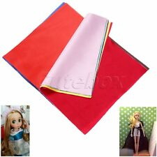 Satin Fabric Bundle Patchwork Sewing Quilting Tissue Cloth Bowknot 20*25cm 15pcs