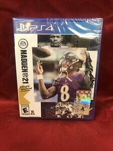Madden NFL 21 Deluxe Edition (Sony PlayStation 4 PS4) BRAND NEW L🔵🔵K 🔥🔥
