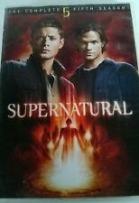 Supernatural The Complete Fifth Season DVD