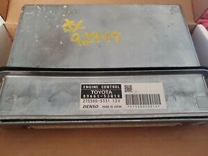 2012-14 LEXUS IS250-350 RWD  ENGINE CONTROL MODULE 89661-53Q10