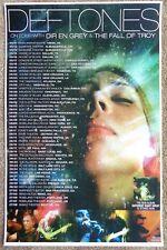 DEFTONES May-July 2007 TOUR POSTER Concert Gig