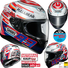SHOEI Integralhelm NXR MARQUEZ POWER UP! TC-1 Motorradhelm mit Pinlock L 59/60