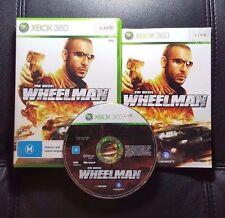 Vin Diesel Wheelman (Microsoft Xbox 360, 2009) Xbox 360 Game - FREE POST