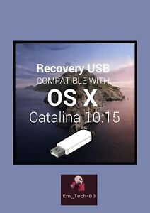 Media Installation Bootable USB Kit compatible For MacOs Cätalina