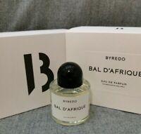 Byredo Bal D'afrique 100 ml | 3.3 Oz Eau De Parfum Unisex New With Box Sale