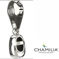 Genuine Chamilia silver 925 baby shoe bootie bracelet charm dangle GH-10