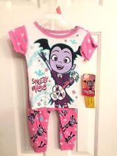 Vamprina Pajamas Disney Junior 2T Short Sleeves With Long Bottoms Sweetly Vee