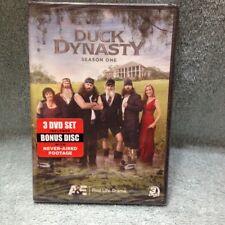 DUCK DYNASTY SEASON 1 New Sealed 3 DVD Set