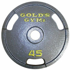Gold's Gym Weight Plates