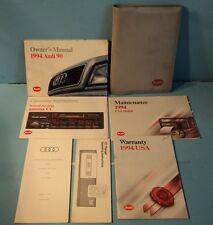 94 1994 Audi 90 owners manual