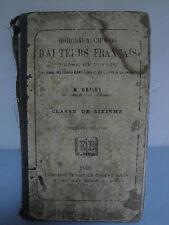 Morceaux Choisis d'Auteurs Français - 1883