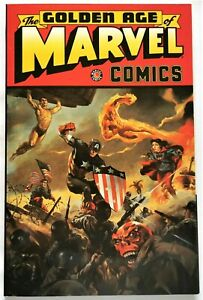 GOLDEN-AGE OF MARVEL COMICS...VOLUME 1...FIRST PRINTING....MINT CONDITION...1997