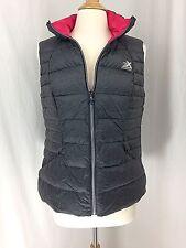 ZEROXPOSUR Gray Packable Down Ski Vest Jacket ~ Large NWT