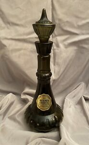RARE Jim Beam 1964 I Dream Of Jeannie Smoke Green Genie Bottle With Labels