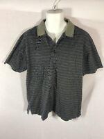 Men's Callaway Golf Navy Polo Casual T-shirt Size M