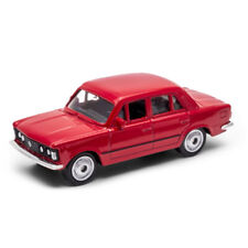 """1976 Fiat 125 P Red, Welly 1:60 1:64 No. 52380 3"""" inch Toy Car Model"""
