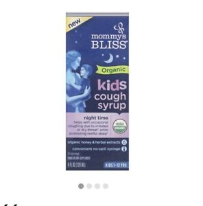 Mommy's Bliss Gripe Water Night Time - 4oz