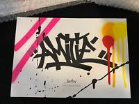 ZENOY William PINÇON, livre Graffé & Signé et Numéroté Banksy Cope Sonic jonone