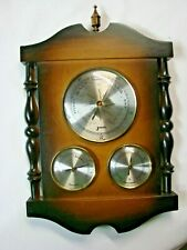 VINTAGE WALL MOUNT JASON WEATHER STATION - TEMPERATURE , HUMIDITY , BARAMETER