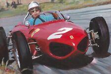 Canvas 1961 Ferrari 156 F1 #2 Phil Hill (USA) by Toon Nagtegaal (LE)