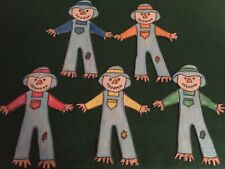 Five Fall Scarecrows Autumn Felt Flannel Board Story Pellon