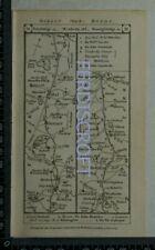 1785 Paterson Strip Map - Pontefract,Weatherby,Boroughbridge,Darlington, etc