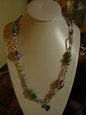 Necklace. Large Charm Bead design