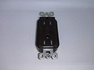 Pass and Seymour Legrand 1595-TR GFCI Duplex Receptacle Brown 1597TRWR New