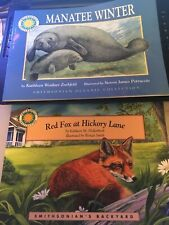Smithsonian Collections/Manatee Winter and Red fox at Hickory Lane/G/Children