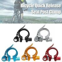 25.4,28.6,31.8mm MTB Bike Bicycle Saddle Seat Post Clamp Quick Release