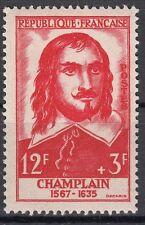 FRANCE TIMBRE NEUF N° 1068 ** SAMUEL DE CHAMPLAIN EXPLORATEUR