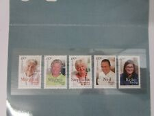 AUSTRALIAN LEGENDS OF COOKING stamp pack Australia 5 X 60 CENT