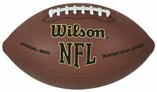 WILSON NFL Super Grip ADULT size Training Ball AMERICAN FOOTBALL NEW! - Brown
